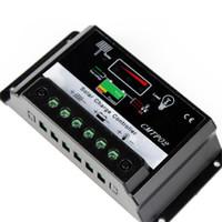 ingrosso regolatore di carica solare mppt-All'ingrosso- Alta qualità 10A MPPT regolatore regolatore di carica solare 12V 24V Auto Switch M00 PK 2015 NUOVO