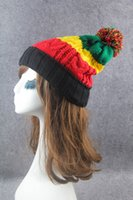 bunte Winter Warme Hüte Mützen Hut Mode Stricken Ball Männer skullies Frauen Casual Winter Caps Outdoor-zubehör