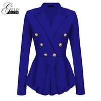 Wholesale ladies trench coat white - Gold Hands 2017 New Female Winter Jackets Elegant Wool Blends Trench Coat Ladies Windbreaker Outwear Plus Size