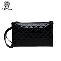 Wholesale Mobile Phone Drop Shipping - SHYAA Small Wholesale 2016 New Handbag PU Lingge Women Bag Stall Supply Mobile Phone Bag Women Messenger Bags 10pcs lot drop shipping