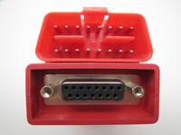 adaptador nissan obdii al por mayor-OBDSTAR OBDII-16 Adaptador para X100 + X200 X300PRO OBD II Conector OBD 2 OBD-II Adaptador OBDII Obd2 Adaptador OBD2 Conector OBDII