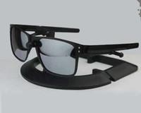 güneş gözlüğü lensleri toptan satış-Marka Sürüş güneş gözlüğü UV400 Lens Spor Güneş Gözlükleri Moda Trendi Bisiklet Gözlük 11 Renkler Açık Gözlük Metal Güneş Gözlüğü 4123