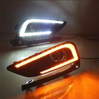 Car Lampeggiante 2 pz per Chevrolet Cruze 2016 2017 LED luci DRL Driving Daytime Running Light lampada Relay 12 V Daylight car styling