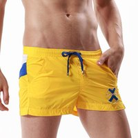 Großhandel-2016 neue Herren Sport Shorts Marke Seobean Baumwolle Männer Sport Boxer Shorts Trunks Running Yoga Gym Shorts Homosexuell Shorts Casual Outdoors