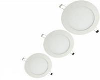 downlight mince achat en gros de-LED panneau Downlight 3W 4W 6W 9W 12W 15W 18W 24W ultra mince encastré plafonniers ampoule blanc chaud blanc froid pour la décoration de salon