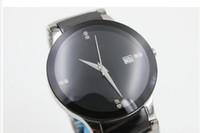 ingrosso orologio digitale quadrante nero-Vendita calda Moda Luxruy Orologio al quarzo di marca Uomo Diastar Quadrante nero Acciaio inossidabile Orologio digitale Montre Homme orologio da polso