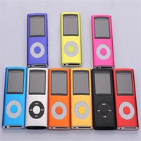 Wholesale Mp4 Dhl 16gb - 32GB 16GB 4th MP4 Player FM+Ebook+Voice Recorder MP3 with cable and earphone Free DHL Shipping