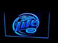 Wholesale Miller Lite Beer Neon Light - LS498-b-Miller-Lite-Beer-Displays-logos-Neon-Light-Sign