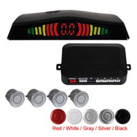 Wholesale Distance Alarm System - Alarm Distance: 0 ~ 2.0m Car Radar Detector System + Backlight Display + 4 Sensors Wholesale