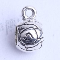 Wholesale Rose Carved Bead - Rose carved tee union with pattern Bead caps charm antique silver bronze Zinc Alloy for DIY pendant Jewelry Making Accessories 400pcs 2451