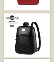 Wholesale Embossed Skull Handbags - Bag 2016 new wave of female small fresh spring fashion backpack shoulder bag female Korean tidal College Wind dual-use handbag