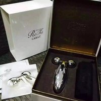 Wholesale Massager Body Face - MTG ReFa CARAT PEC-L1706 Platinum Electronic Roller Japan Model New Personal Face Full Body Massager Beauty Equipment Lines & Wrinkles gift