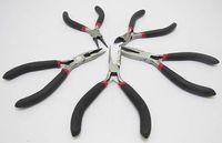 Wholesale Beading Kit Tools - Wholesale-Free Shipping 1 Set X 5pcs New Mini Pliers Jewellery Tool Jewellery Pliers Cutter Beading Making Repair Tool Kit