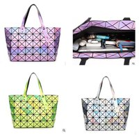 Wholesale Handbags Colorful Patchwork - 2017 Fashion Bags Totes Messenger Bag Female Lattice styles Cube Patchwork colorful handbags New!! free shipping