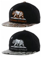 Wholesale Cap Republic - California Republic Hats Fashion Street Cap Snapback Hip Hop Ball Panel Popular Casual Outdoor Casquette Baseball Strapback Sun Gorras