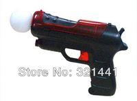 Wholesale Xbox Light Gun - Wholesale New Light Shooting Gun Shell Pistol For Sony PS3 Playstation Move Controller Game pistol gun games