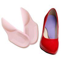 ortopedia mulheres venda por atacado-Atacado-GEL 3/4 Arch Suporte pad para Sapatos de Salto Alto, Pés lisos Orthotics, Palmilhas Ortopédicas Corrector para Sapatos Mulher Cuidados Com Os Pés FM1073