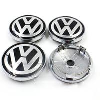 Wholesale Volkswagen Bettle - VW WHEEL CENTER CAPS RIM HUB CAP 60mm 55 Volkswagen PASSAT Jetta GOLF Bettle