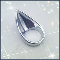 Wholesale Teardrop Penis Ring - Metal Teardrop Cock Ring Cock cage Penis Chastity Device Ejection delay ring sex toy adult product