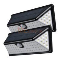 Wholesale Pir Lamps - 73 LEDs LED Solar PIR Lights 730LM Outdoor Waterproof Motion Sensor Solar Lamp LED Patio Lights