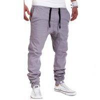 Wholesale Black Gray Camo Pants - Camo Joggers Pencil Pants 2016 New Fashion Slim Fit Camouflage Jogging Pants Men Pants For Track Training New Arrival Fleece Long Pants