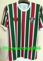 Wholesale Custom H - Thai quality 17 18 Fluminense home soccer jersey custom name number H. DOURADO 9 G. SCARPA AAA quality soccer uniforms football jersey