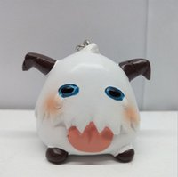 Gioco LOL League of Legends Ciondolo portachiavi a forma di bambola poro pecore carino