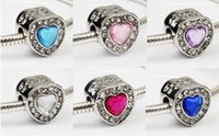 Fit Pandora Charm Bracelet European Silver Charms Multicolour Cat's Eye Stone 925 Beads DIY Snake Chain para Mulheres Bangle Necklace Jewelry