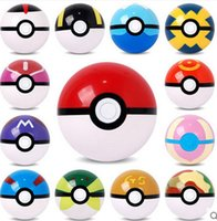 Wholesale Toy Fairies Figures - EMS PokeBall Fairy Super poke Ball ABS Action Anime Figures 7cm pikachu figure Kids Children Toys Cosplay Pop-up Master Great Ultra GS Gift