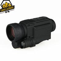 Acheter Grossissement vidéo-Livraison gratuite 4.5X Magnification Digital Picuture Video Shooting Enregistrement sonore Vision nocturne Champ d'application pour la chasse Sport en plein air CL27-0015