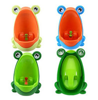 Wholesale Frog Grass - Lovely Frog Children Kids Potty Removable Toilet Training Kids Urinal Early Learning Boys Pee Trainer Bathroom