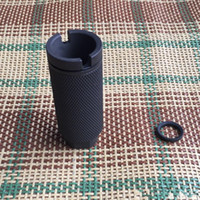 .308 Competition Compact Muzzle Brake 1 2x28 5 8*24 with washer O.D. 1.35