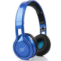 Wholesale Sms Dj Headphones - Free DHL 50cent SMS Earphones & Noise Cancel Headphones Gaming Bike Frame Headset DJ Apple Iphone Earphones Audio STREET Over Ear Headphone