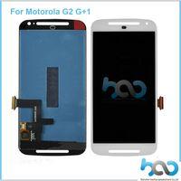 touchscreen für moto g2 großhandel-LCD für Motorola MOTO G2 G 2 2. Gen XT1063 XT1064 XT1068 XT1069 LCD Displsy mit Touch Screen Versammlung DHL geben Verschiffen frei