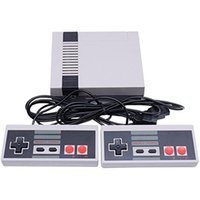 Wholesale Vintage Building - Mini Vintage Retro Classic Game Consoles Handheld Game Player TV Video Game Console Built-in 500 Games HDMI Output YW118US