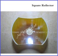 Wholesale Dental Reflector - Dental Material Square reflector of Halongen dental lamps square mirror of dental unit light operation lamps
