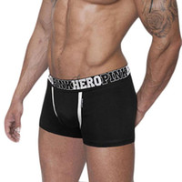 Wholesale Lycra Cotton Boxer - Wholesale-Men Underwear High Quality Cotton Boxers Comfortable Men Fit Male Shorts Good-lookling