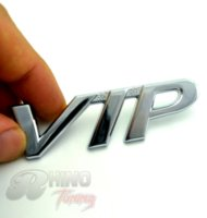 CHROME VIP Logo Fender Auto Emblem für Auto Auto Stiefel Trunk Badge Sticker 531sv Günstige Emblem-Software
