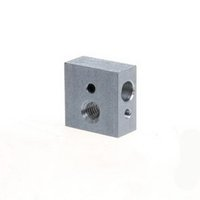 Wholesale Hot End Printer - Heater Block For Reprap Makerbot 3D Printer MK8 Extruder Hot End Screw hole B00167 BARD