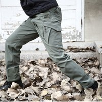 Wholesale Cargo Soft - IX9 Shark Skin Soft Shell Military Pants Men Waterproof Sport Hike Outdoor Clothes Tactical Cargo Army Pants
