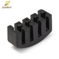 Wholesale string instrument parts online - Rubber Practice Cello Mute For Cello Strings Acoustic Black Violin Musical Instrument Parts Cello Mute