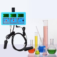 Wholesale Ph Cf - 6 in 1 Water Testing Meter Digital Multi-function Water Quality Monitor PH   ORP   Temperature   Conductivity EC   CF   TDS(PPM)