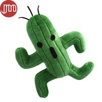 "Wholesale Fantasy Video - New 1 PCS Final Fantasy Cactus Cactaur Cacti Stuffed Plush Doll Animal Anime Kids Toys Collections 10"" Free Tracking"