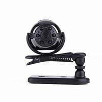 mini camara de auto deportivo al por mayor-Vista de 360 grados SQ9 Mini DV HD 1080P Cámara deportiva 12MP Coche DVR Detección de movimiento Multifunción de video por infrarrojos lámpara Grabadora de video por voz