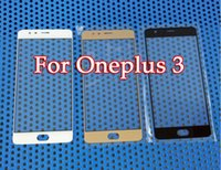 Wholesale One X Screen - For One plus 3 Replacement LCD Front Touch Screen Glass Lens for Oneplus 3 A3000 Outer Glass Lens For oneplus X ONE E1001