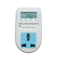 Wholesale Eco Energy Saving - New 220V-240V Energy Saving Timer Programmable Electronic Timer Socket Digital Timer