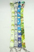 Wholesale Totoro Card - Hot Sale 20pcs Lot My neighbor totoro Neck Strap Lanyard For Phone Keys ID Card New