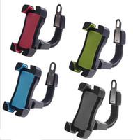 rückblick motorradspiegel großhandel-Handyhalterung Halter Ständer für Motorrad Motorrad Roller - Halterung am Rückspiegel Halter - Motorrad Zubehör