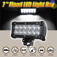 36W Arbeit CREE LED Licht Chips Bar LKW Lampe Verdrahtung Traktor Boot Off-Road 4WD 4x4 12v SUV ATV Flood Super Bright