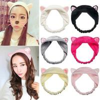 Girl's Fashion Soft Cute Cat Ears Headband Party Headdress Women Hairbands